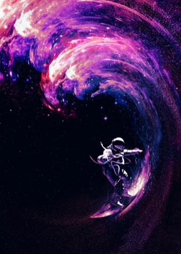 Japanese Wave Wallpaper Hd Space Surfing By Nicebleed Gt Gt Displate