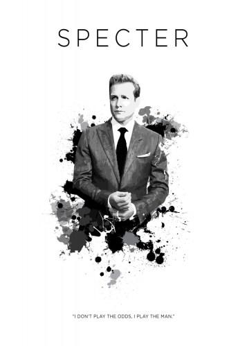 Animals In Suits Wallpaper Harvey Specter By Koo Concept Displate