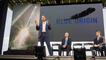 Blue Origin two years away from offering space flights
