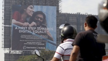 Facebook faces fight for free Internet in India