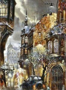 Ivan Slavinsky- Russian Surrealist and impressionist painter