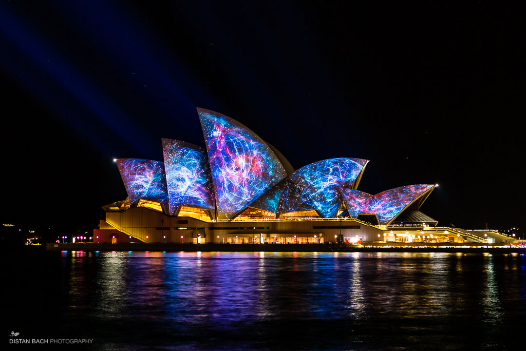 Hd Wallpaper Diwali Light Vivid Festival Sydney Opera House Sails Distan Bach