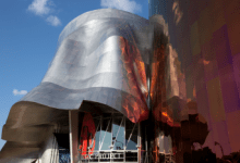 Seattle Music Project by Frank Gehry