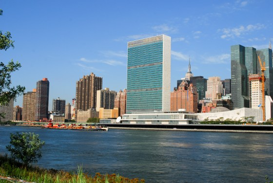 English: United Nations headquarters in New Yo...