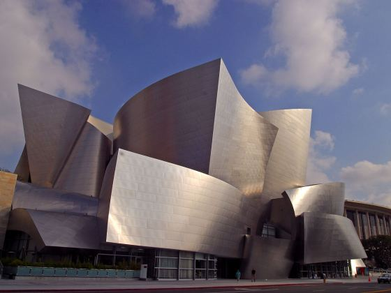 English: The Walt Disney Concert Hall in Los A...