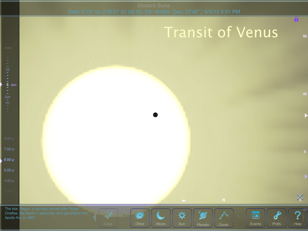 Distant Suns and the Transit of Venus
