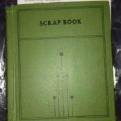 Alan Shepard's First Grade Scrapbook