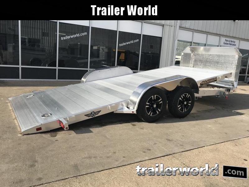2019 Aluma 8218b Aluminum Open Car Trailer Trailer World