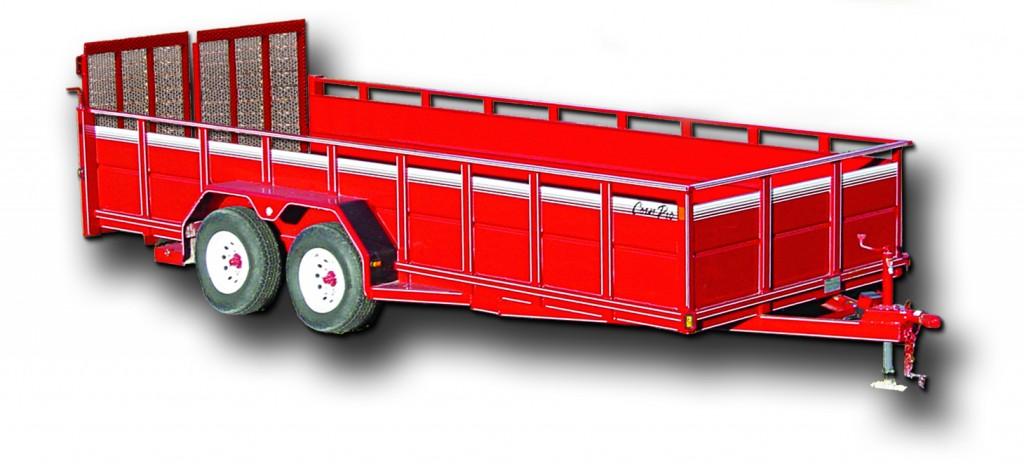 CornPro Kingdom Trailers Horse, Equipment, Dump, Utility and