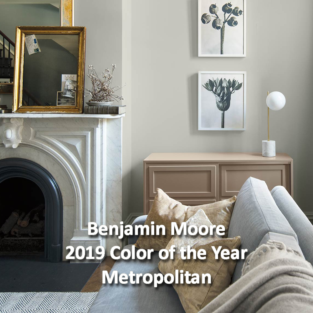 Metropolitan Benjamin Moore Benjamin Moore 2019 Color Of The Year Metropolitan Distinctive