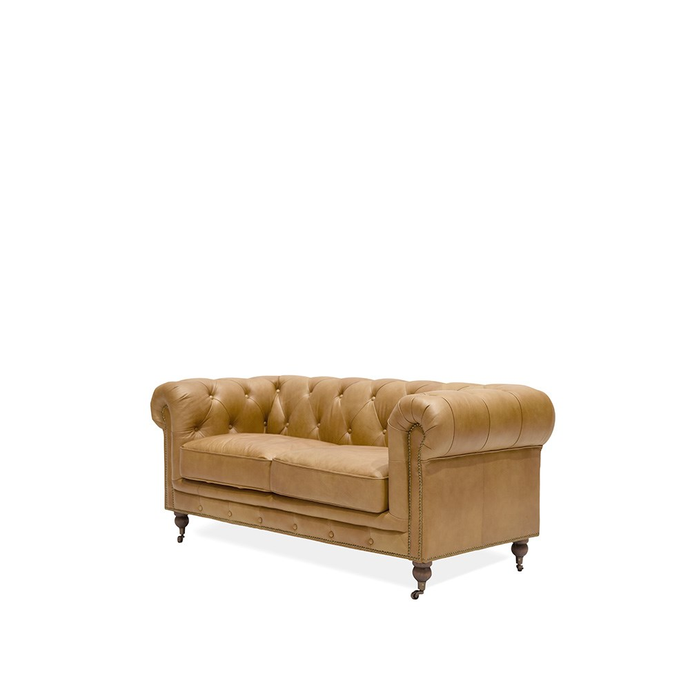 Stanhope Chesterfield 2 Seater Camel Sofa Distinctive Furniture