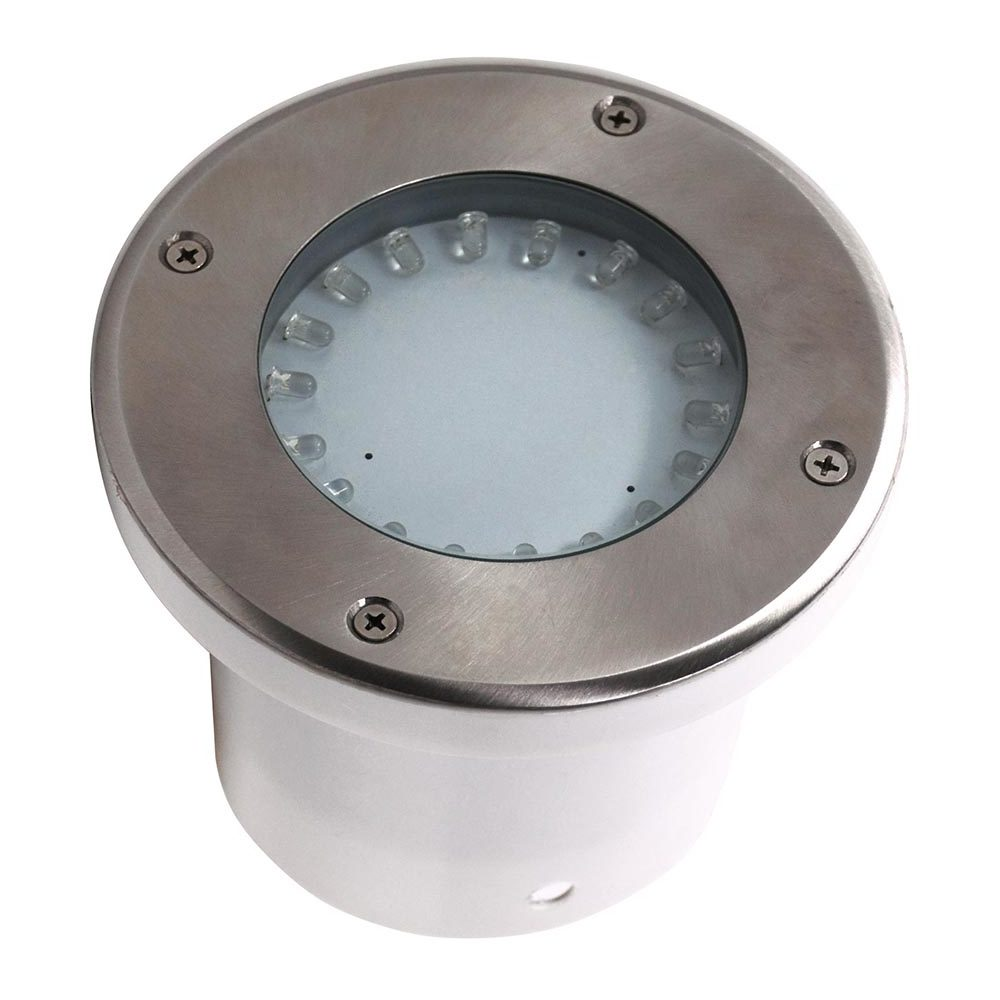 Projecteur Led Exterieur Ip67 Spot Led étanche Rond 1 2w Ip67 Encastrable Au Sol Diam 95mm