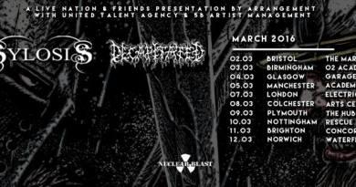 Sylosis + Decapitated UK tour
