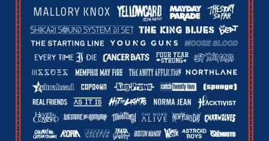 Slam Dunk Festival 2016 (March Poster)