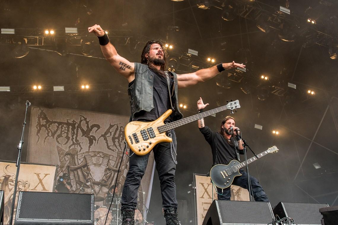 Rotting Christ live Bloodstock Festival 2016