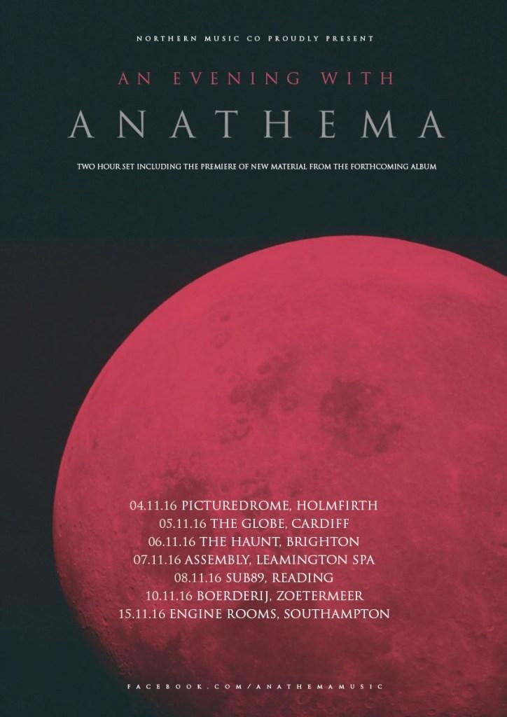 Anathema Tour Dates 2016