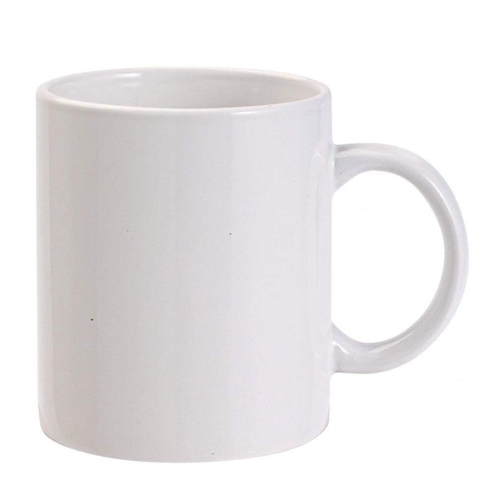 Ceramic mug, 0.3 ltr, white