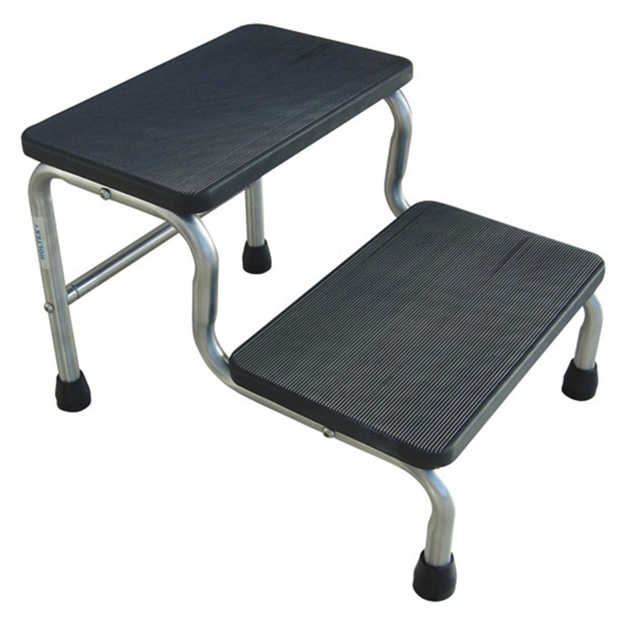 Tabouret 2 Marches Marchepied Médical Inox 2 Marches