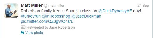 Jase Robertson (@JaseDuckman) on Twitter