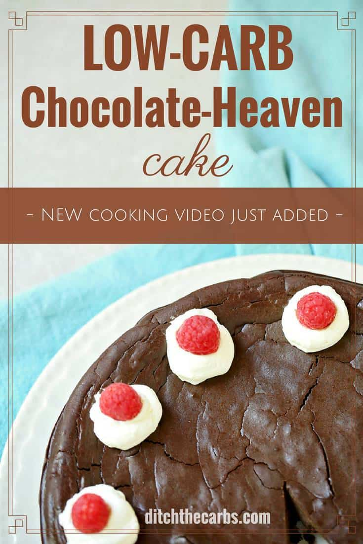 Protein Kuchen Low Carb Low Carb Chocolate Heaven Cake
