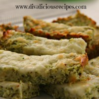 Low Carb Broccoli Cheesy Breadsticks