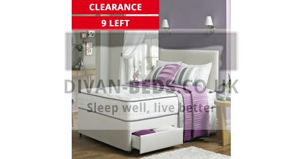 Henry Divan Bed Set With 2000 Pocket Spring Memory Foam
