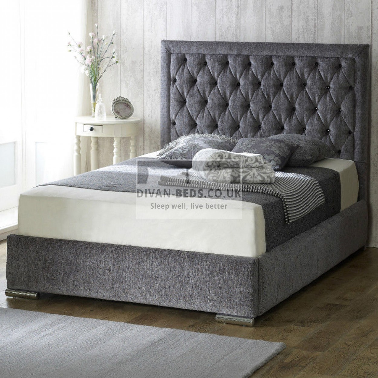 Fabric Bed Frames Belinha Fabric Upholstered Bed Frame Guaranteed Cheapest Free