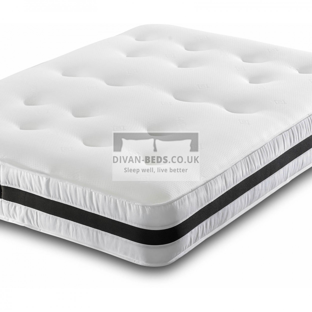 Spring And Memory Foam Mattress Airflow Open Coil 13 5 Spring Memory Foam Mattress