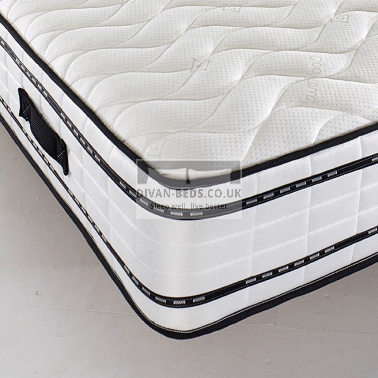 Spring And Memory Foam Mattress 2000 Pocket Spring Quilted Memory Foam Mattress With