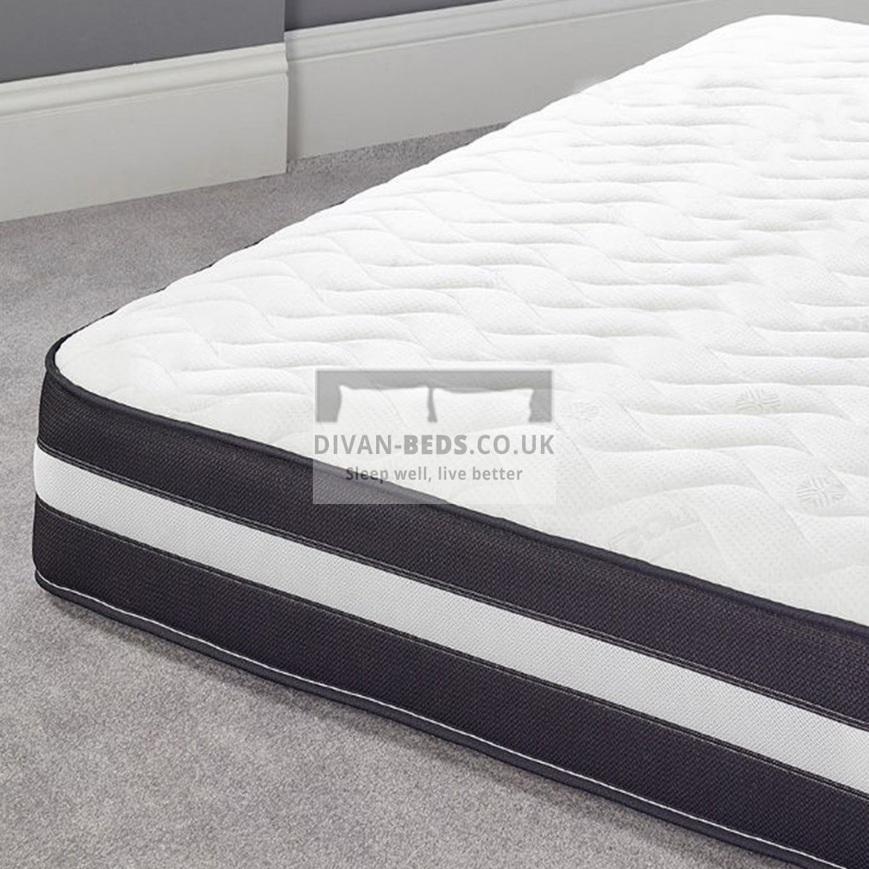 Spring And Memory Foam Mattress 3000 Pocket Spring Organic Quilted Memory Foam Mattress