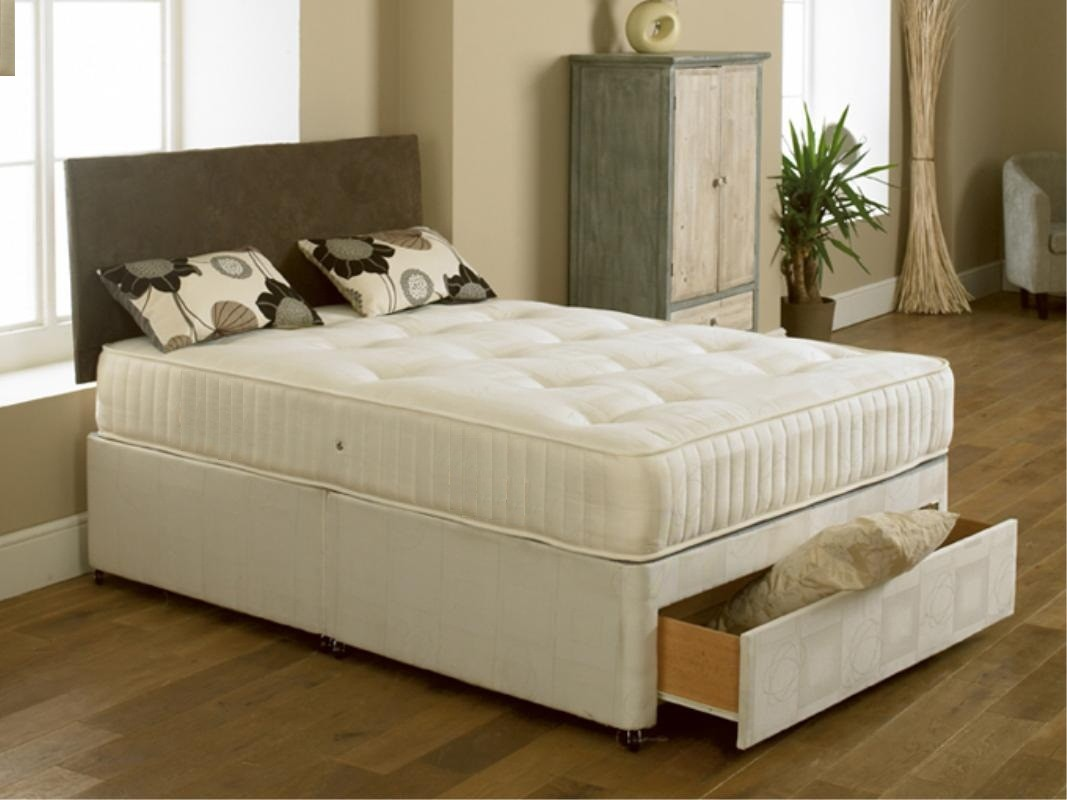 Double Divan Beds Elite 4ft Small Double Divan Bed With Orthopaedic Mattress