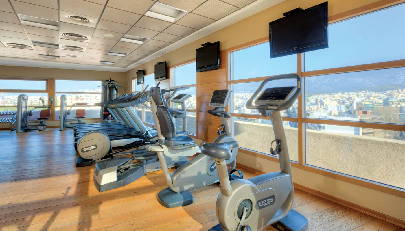 Divani Caravel Gym Divani Caravel Hotel Wellness Center