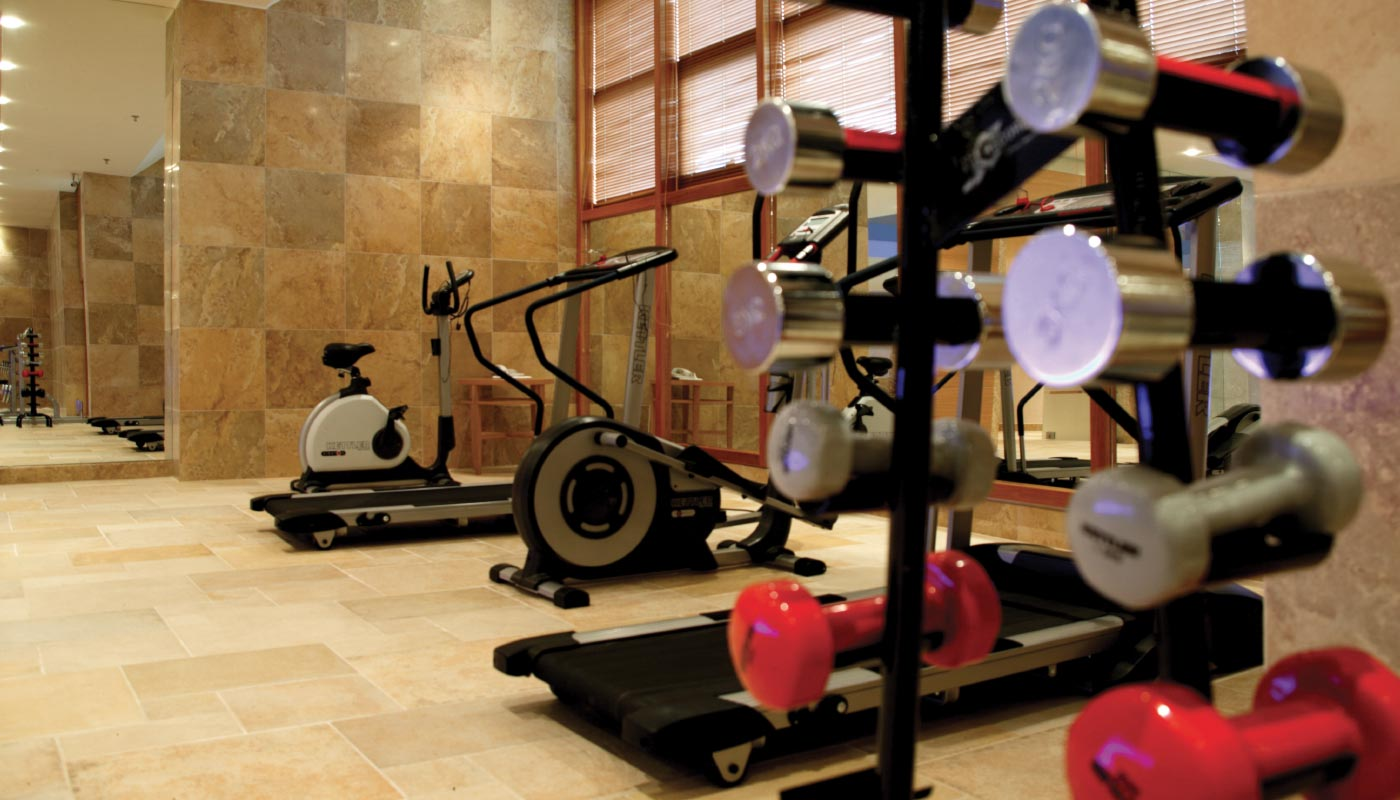 Divani Caravel Gym Divani Meteora Hotel Recreational Facilities