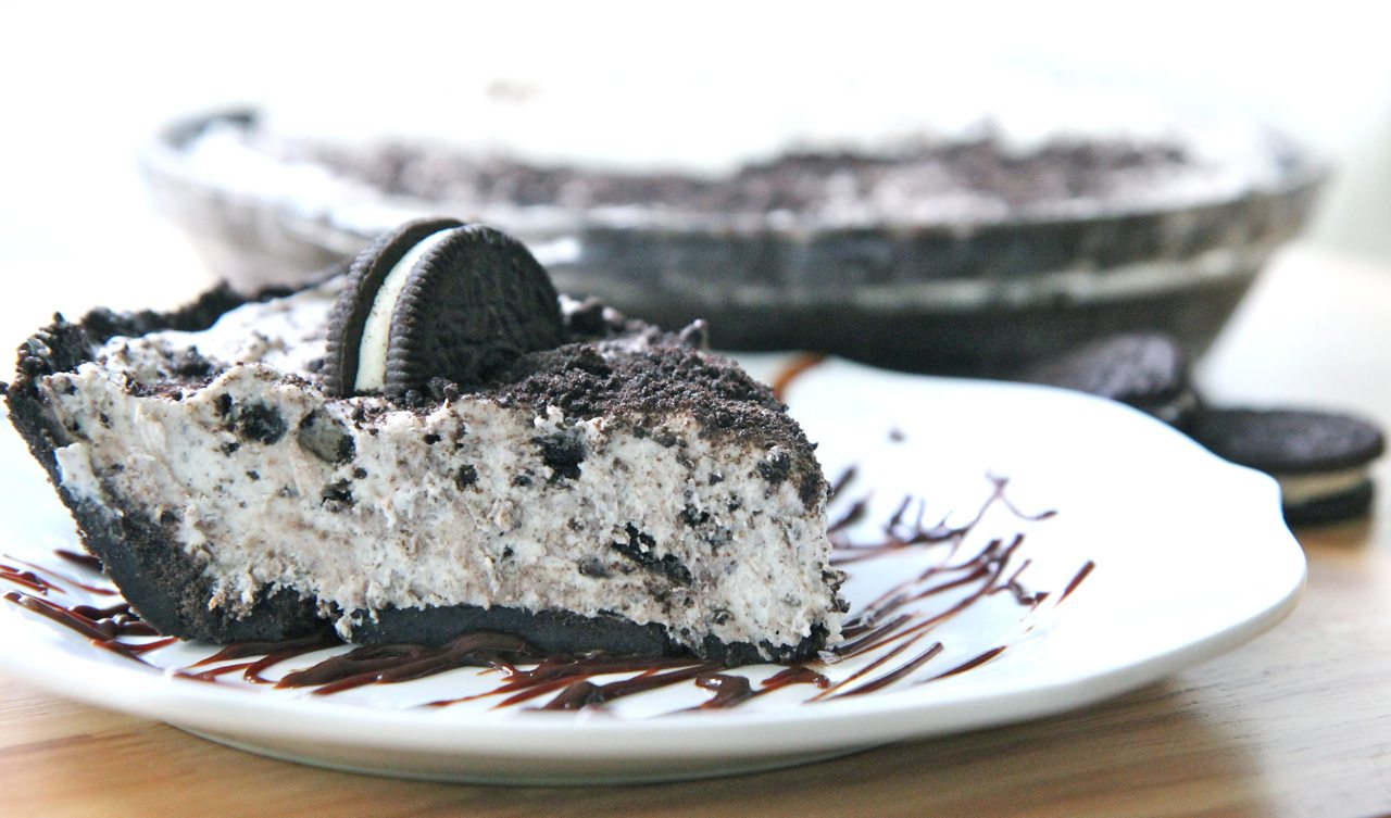 Vegane Oreo Torte No Bake Cookies Cream Pie