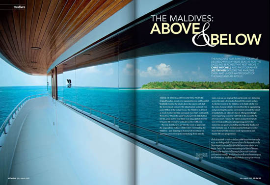 Maldives Fah Thai Magazine Pages 1 and 2