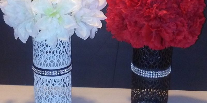 diy dollar tree flower decor arrangement centerpiece wedding craft project