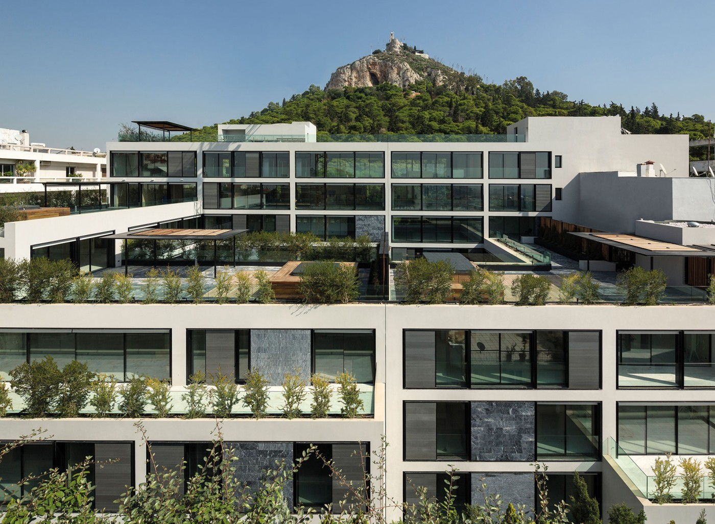Architectural Design Of Residential Building One Athens Divercity Architects
