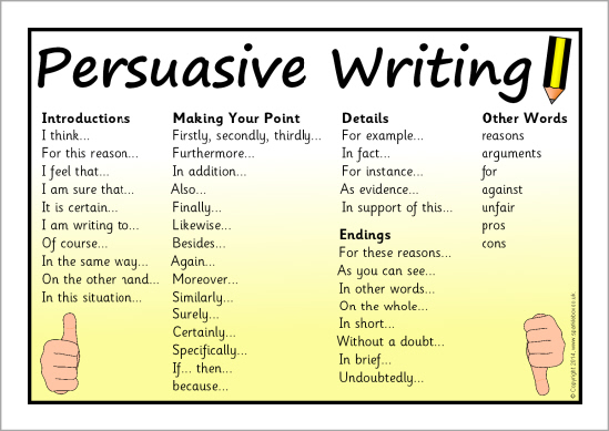 the purpose of a persuasive essay is to