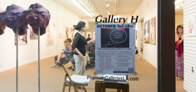 Where the Magic Happens at Gallery H - curated by Kristine Schomaker - Photos: Jack Burke