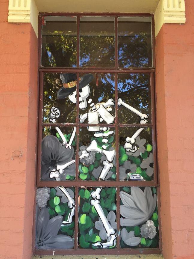 wiseman window painting in petaluma