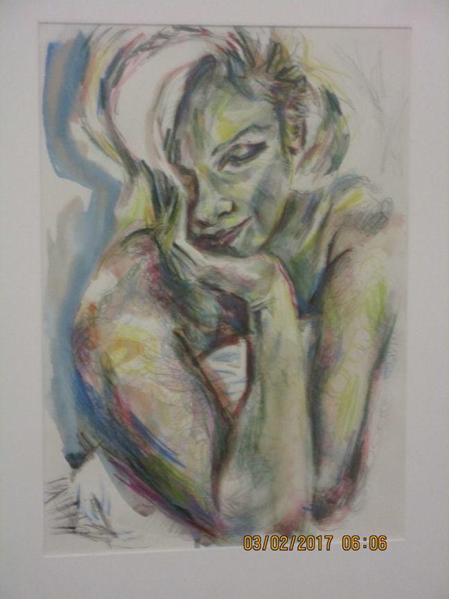Fundraiser Chuka Susan Chensy Blue Marilyn $400, $150 bid