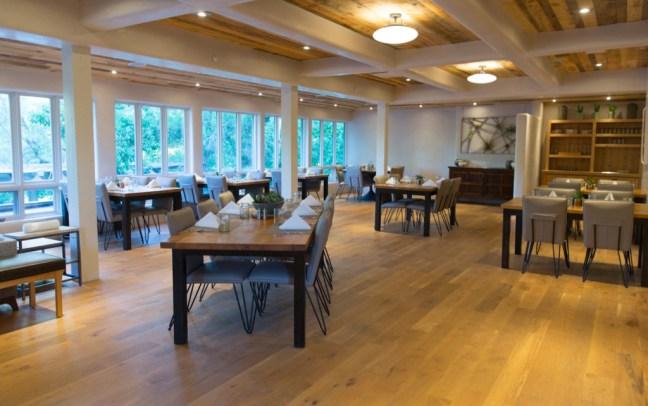 Santa Fe Sunrise Springs Blue Heron dining room