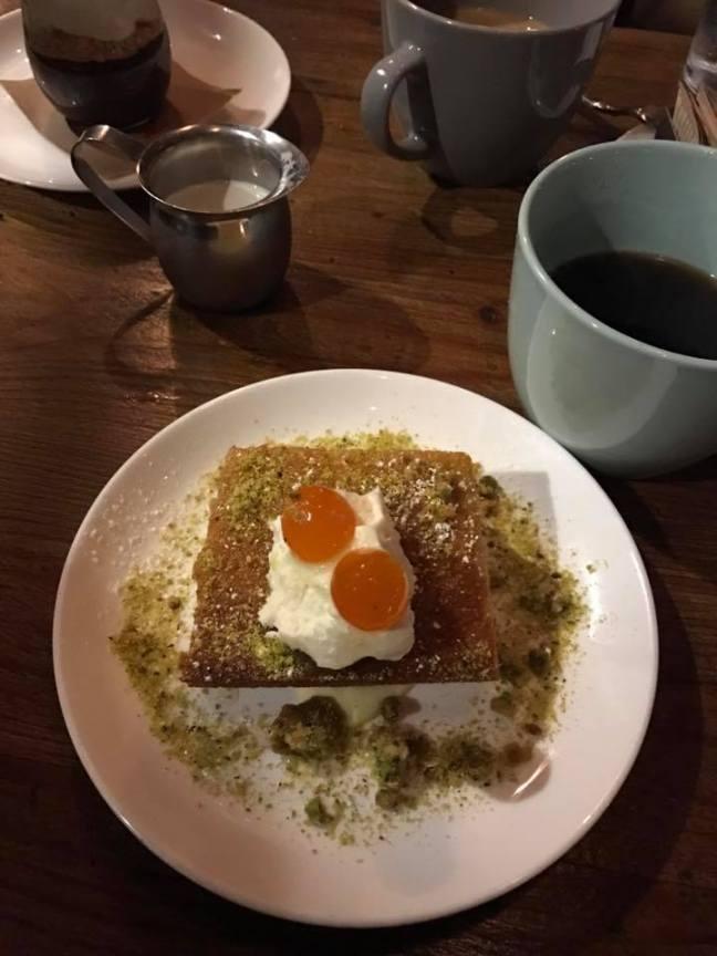 man house olive cake