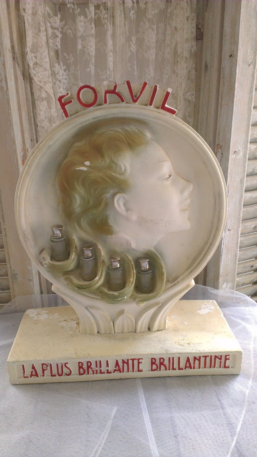 Marktplaats Paspop Vintage Advertising Display:forvil - Diverza