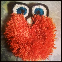 Another gem pattern found in a vintage crochet book - FLUFFY OWL!