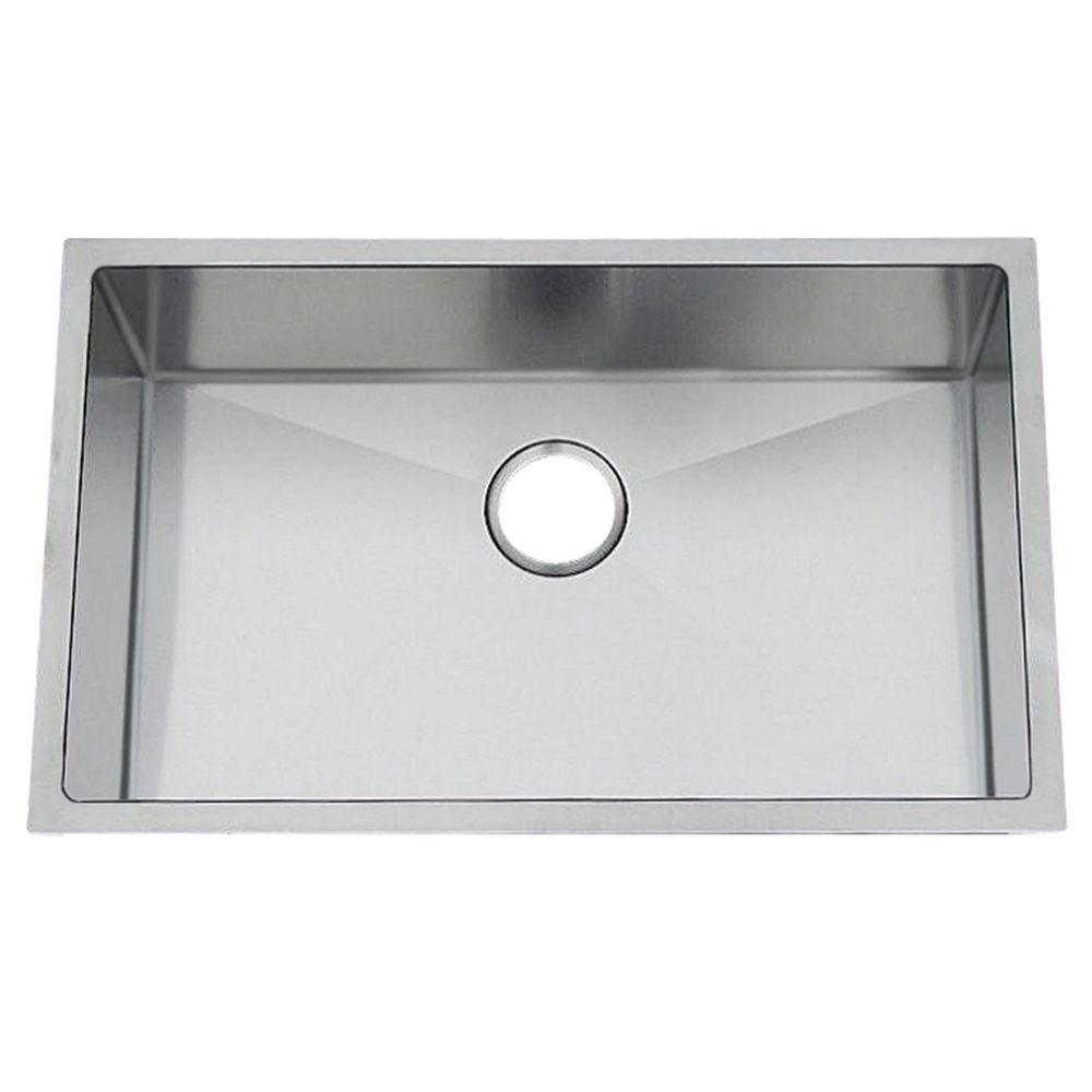 Kitchen Sink For 18 Cabinet Fabricated Finger Radius 27