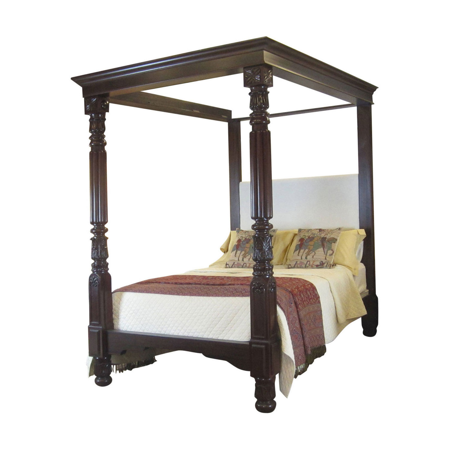 Wood Four Poster Beds Canopy Metal King Size Beds