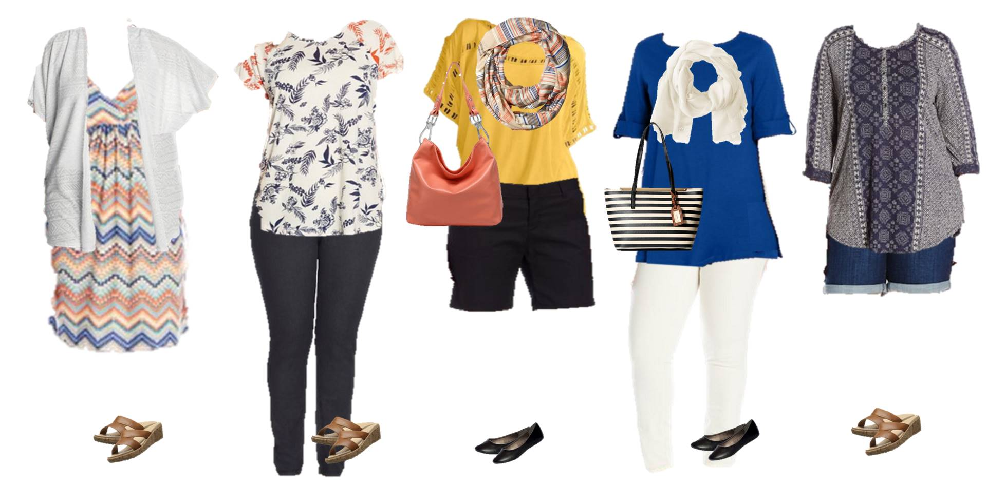 Mix And Match Women S Mix Match Plus Size Summer Styles