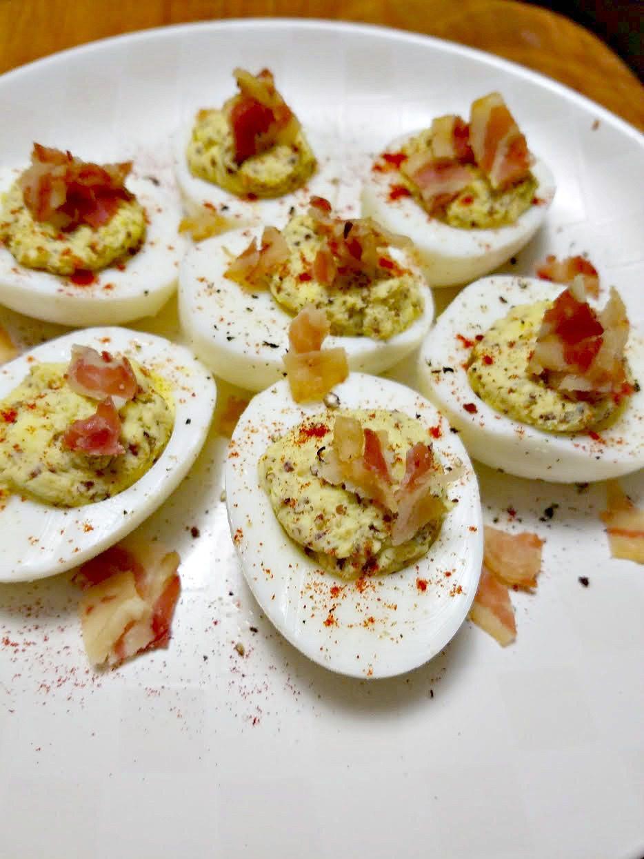 Fullsize Of Spicy Deviled Eggs
