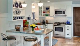 Renovar la cocina sin obras con vinilo efecto acero inoxidable